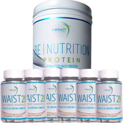 5 Waist 21 y 1 de regalo + 1 Be Nutrition Protein